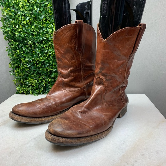 9ea29cda7ee Frye Duke Roper Mid Calf Boots
